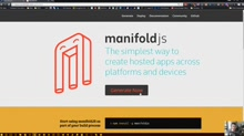 Quick Dev: Building Hosted Web Apps on Android, iOS and Windows with manifoldJS