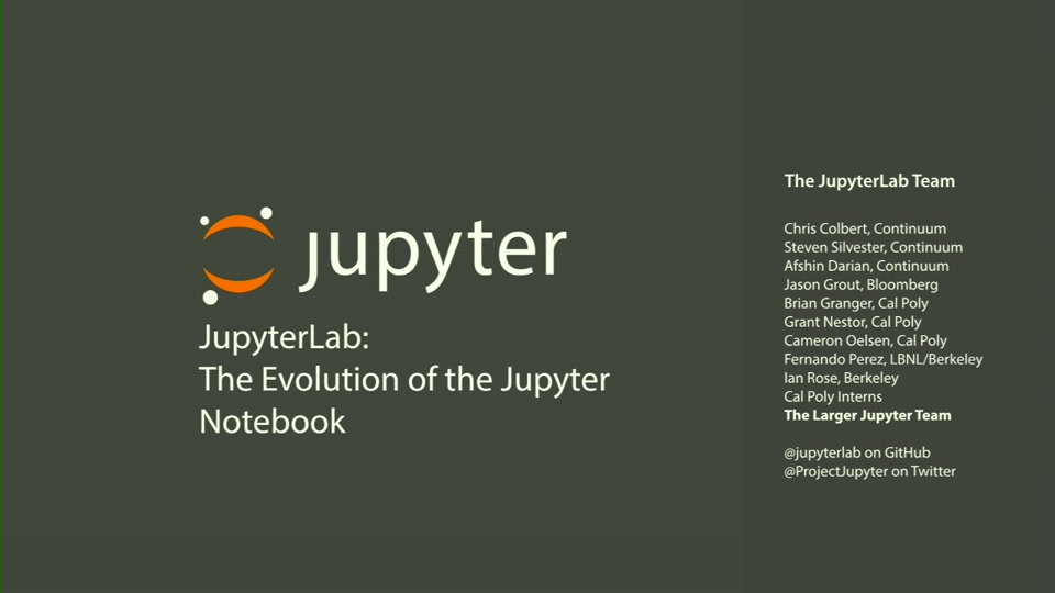 JupyterLab+Real Time Collaboration