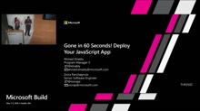 Gone in 60 Seconds! Deploy Your JavaScript App