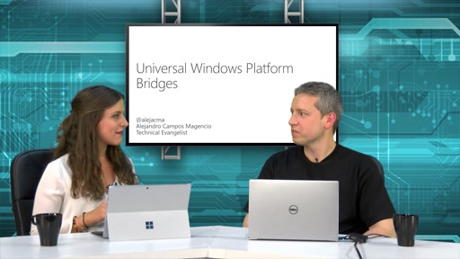 Programa 5 – Universal Windows Platform Bridges
