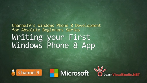 Part 3: Writing your First Windows Phone 8 App