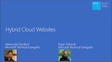 (Module 1) Hybrid Cloud Websites