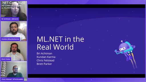 ML.NET in the Real World