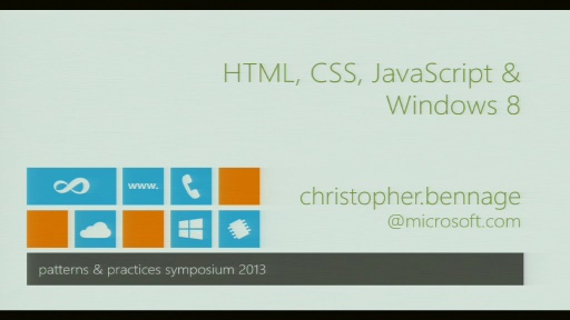 HTML, CSS, JavaScript, and Windows 8