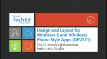 Design and Layout for Windows 8 and Windows Phone Style Apps