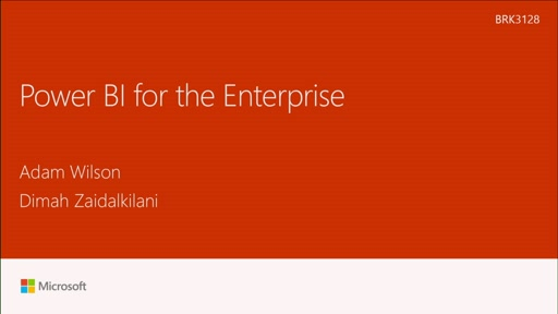 Probe Microsoft Power BI for Enterprise
