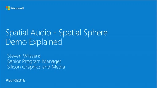 Spatial Audio with AudioGraph in UWP