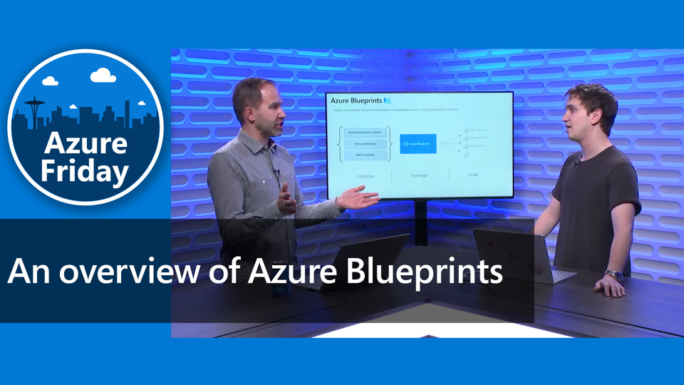 An overview of Azure Blueprints