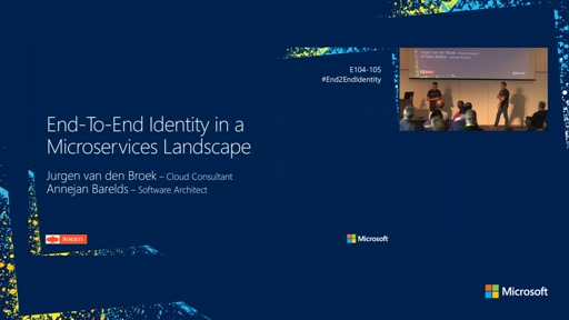 End-To-End Identity in a Microservices landscape