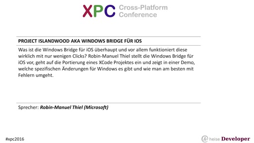 Project Islandwood aka Windows Bridge für iOS