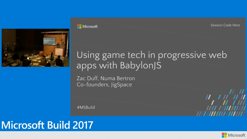 Jig Space: Using 3D game technology in progressive web apps with