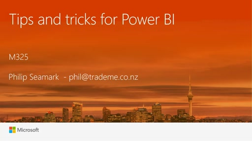 Tips and Tricks for Power BI
