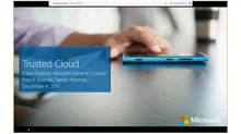 VFI Webinar on Trusted Cloud