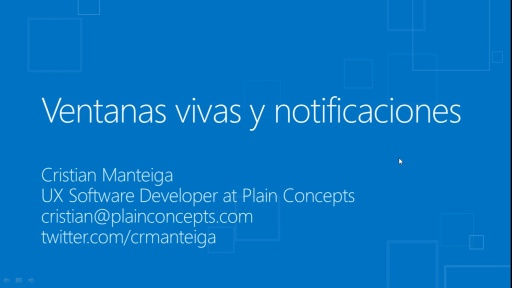 Windows 8 para desarrolladores de C# y XAML. Tiles y notificaciones
