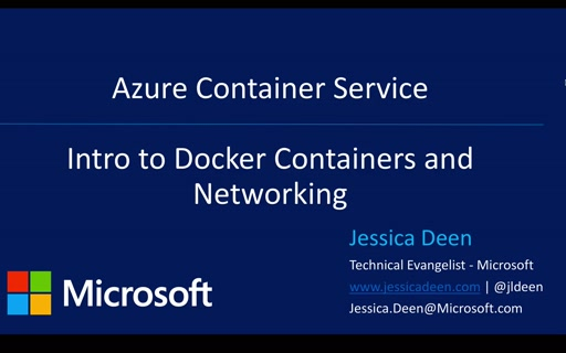 How to link containers on ACS
