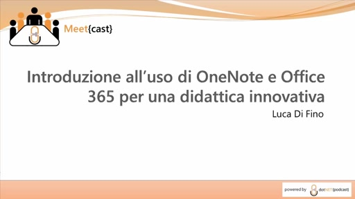 Introduzione all'uso di OneNote e Office 365 per una didattica innovativa