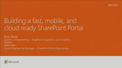 Learn how to build a fast, responsive SharePoint portal in SharePoint Online