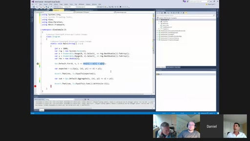 Daniel Egloff on using the power of the GPU in .NET