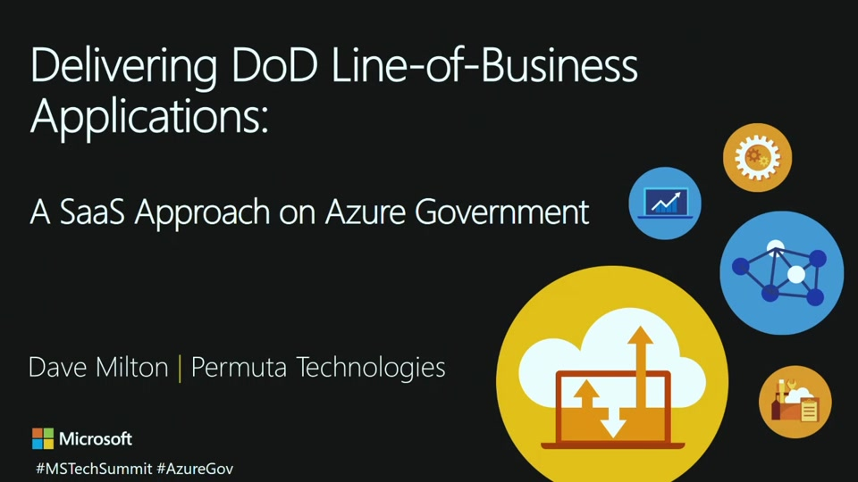 Delivering DoD Line-of-Business Applications: A SaaS Approach on Azure Government