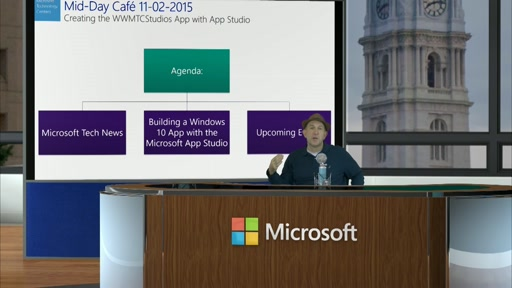 2015-11-02 Mid-Day Cafe Creating the WWMTCStudios App with App Studio