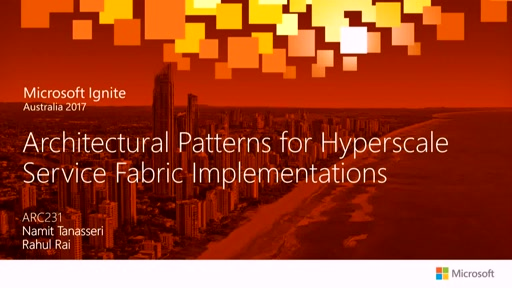 Architectural Patterns for Hyperscale Service Fabric Implementations