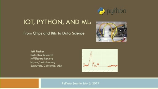 Python and IoT: From Chips and Bits to Data Science