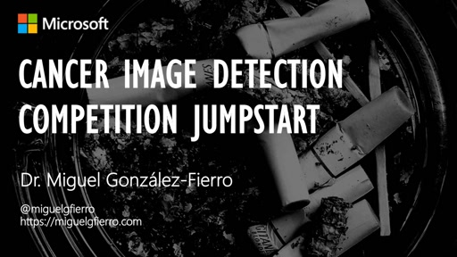 Cancer Image Detection Competition Jumpstart