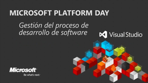 Microsoft Platform Day: Enterprise software development process