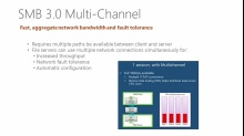 Windows Server 2012: SMB 3.0 Multi-Channel