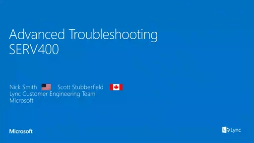Advanced Troubleshooting