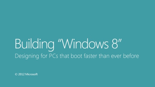 Designing PCs that boot faster than ever before