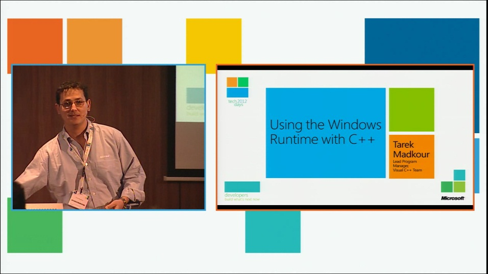Using the Windows 8 Runtime from C++