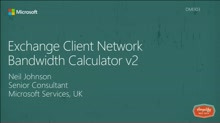 Exchange Client Network Bandwidth Calculator v2