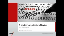 A Modern Architecture Review: Using the New Code Review Tools