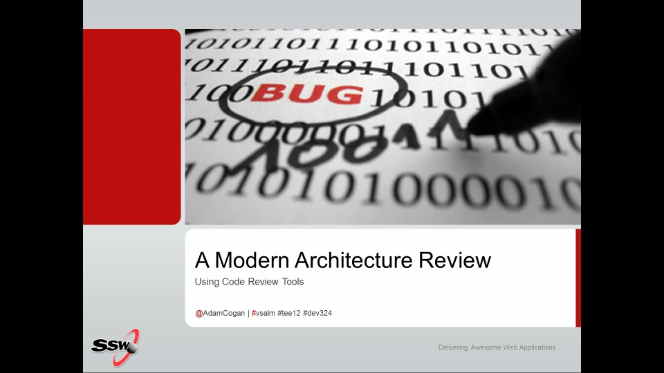 A Modern Architecture Review: Using the New Code Review Tools ...