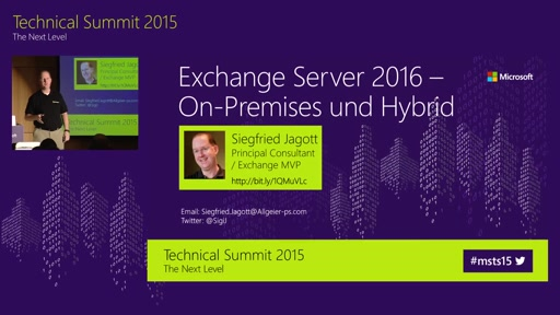 Exchange Server 2016 - On-Premise und Hybrid