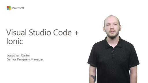 Using Visual Studio Code with Ionic