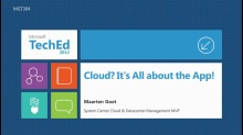 Cloud? It's All about the App!