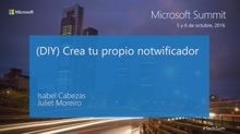 T5s3 - Cognitive Services & Conversations as a Platform: (DIY) Crea tu propio notwificador