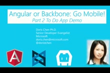 Angular or Backbone: Go Mobile! (Part2)