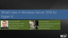 What's new in Windows Server 2016 for Hyper-V
