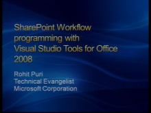 VS2008 Training Kit: Building SharePoint Workflows