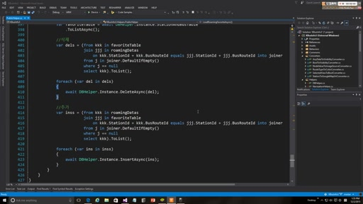 03 MunChan Park - Day 3 Part 14 - Developing the Korea Bus Information app for Windows 10 UWP
