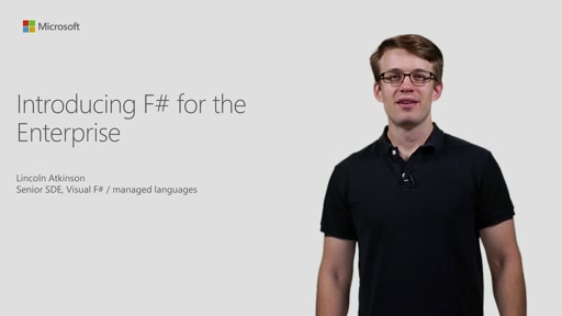 Introducing F# For The Enterprise