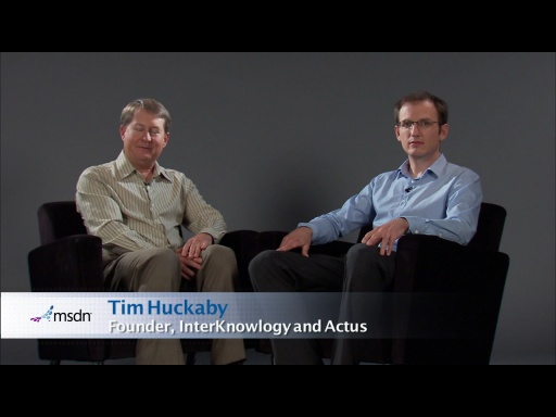 Bytes by MSDN: Simon Hamilton Ritchie and Tim Huckaby discuss Windows Phone and Windows Azure