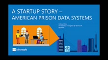 Conversation with Startups: American Prison Data Systems