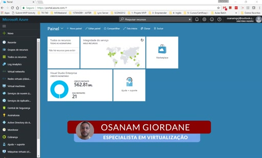 VPN Site to Site no Azure - Novo Portal Azure | ARM