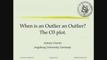 When is an Outlier an Outlier? The O3 plot