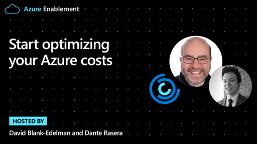 Start optimizing your Azure costs