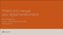 Secure and manage your digital transformation